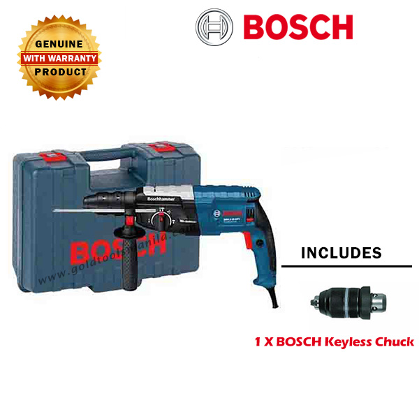 bosch gbh 2 28 dfv rotary hammer drill gold tools manila. Black Bedroom Furniture Sets. Home Design Ideas