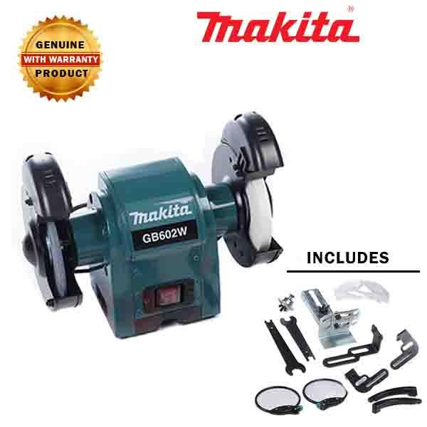 Makita Gb602w Bench Grinder 6 Gold Tools Manila