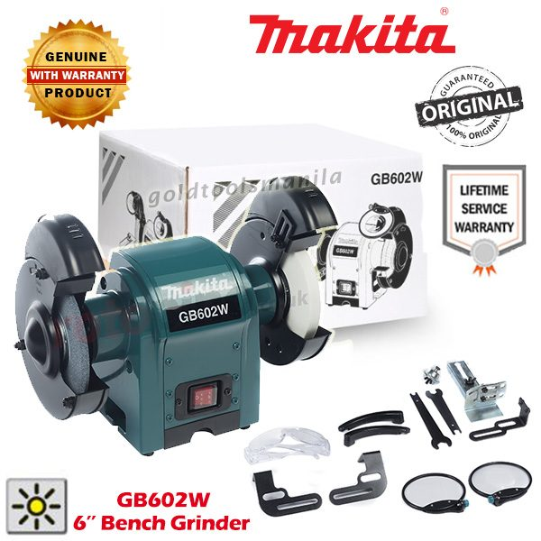 Wondrous Makita Gb602W Bench Grinder 6 Gold Tools Manila Alphanode Cool Chair Designs And Ideas Alphanodeonline