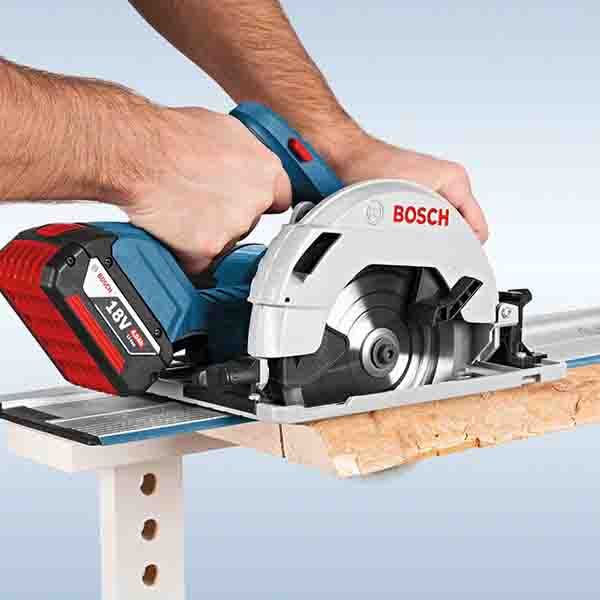 bosch gks 18 v li bare solo 6 cordless battery circular saw gold tools manila. Black Bedroom Furniture Sets. Home Design Ideas