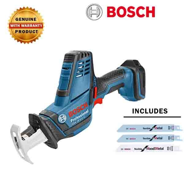 0263f3b2f2e BOSCH GSA 18 V-Li C- BARE/ SOLO- Cordless Battery Sabre Saw (All Purpose)