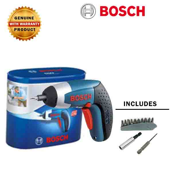 bosch ixo iii 3 6 v cordless battery screwdriver gold tools manila. Black Bedroom Furniture Sets. Home Design Ideas