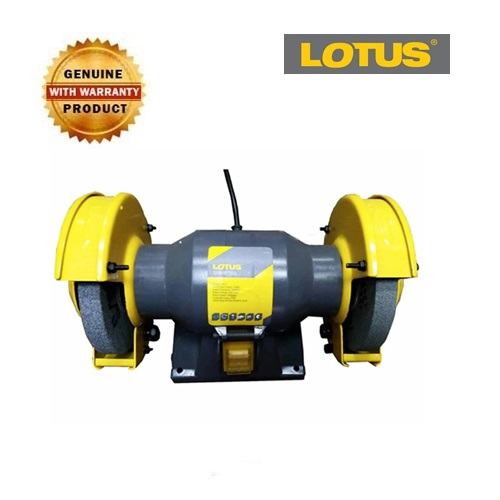 Lotus Lbg125 5 Bench Grinder 1 4hp Gold Tools Manila