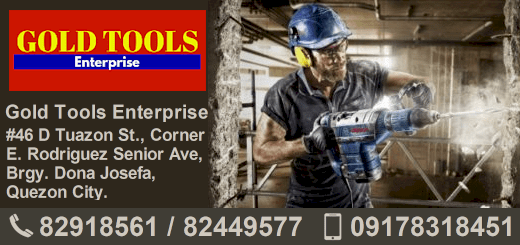 Gold Tools Manila address and telephone number